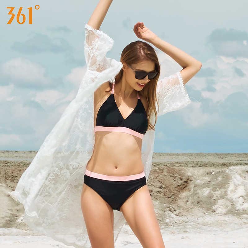 361, спортивный женский купальник, сексуальное бикини, два предмета, купальник, для пляжа, для плавания, стринги, бикини, набор, черный, пуш-ап, Бразильское бикини, для купания