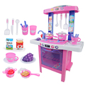 Children Dream Kitchen Toys Beauty Cooking Toy Play set for Children and parents Girl Gifts