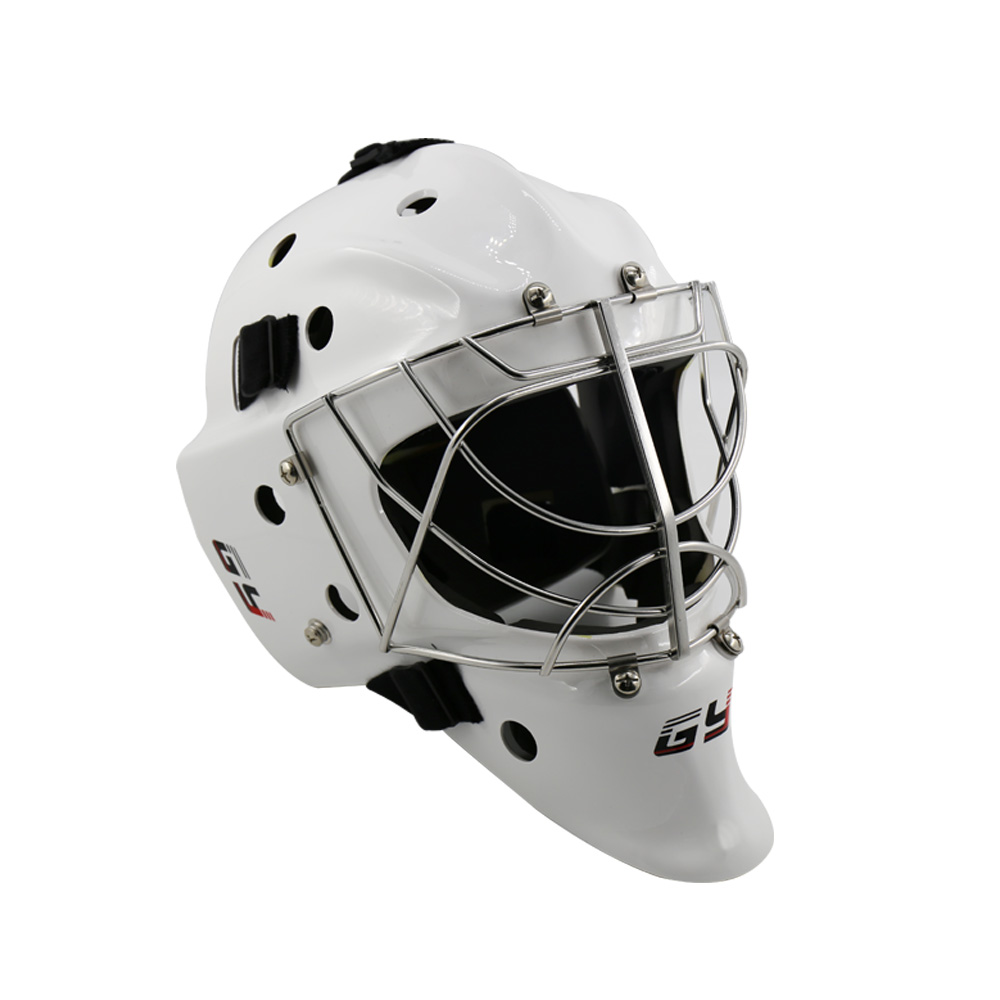 GY sport Ice hockey equipment goalkeeper exclusive fast predator cover helmet with PC material out shell