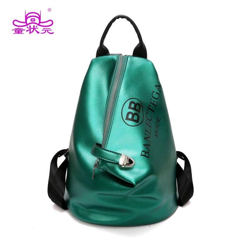 2018 la nouvelle mode hip-hop Fanny Pack été PU cuir dames sac à dos femmes lettres imprimer sac à bandoulière cinq couleurs Heuptas