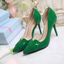 Free Shipping Spring New Sexy  Womens Red Bottom Shoes High Heels Shoes Luxury Designer Patent Leather Wedding Shoes 8cm