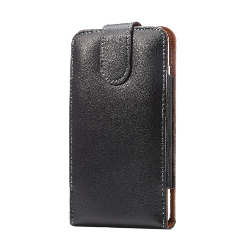 imágenes para Genuine leather belt clip case bolsa de la cubierta para philips xenium w6500/w8510/w732/w832/w8500/e311/w7555/w732