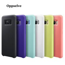 Oppselve Luxury Silicone Phone Case For Samsung Galaxy S9 S8 10 Plus Lite Shockproof Cover Note 8 9 Coque Capa