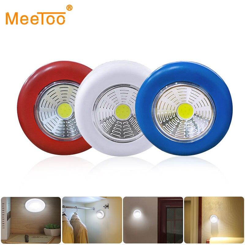 Dolap altı ışığı COB LED pil dokunmatik sensör ışık dolap akülü duvar lambası dolap yatak odası mutfak basmalı lamba çubuk dokunun