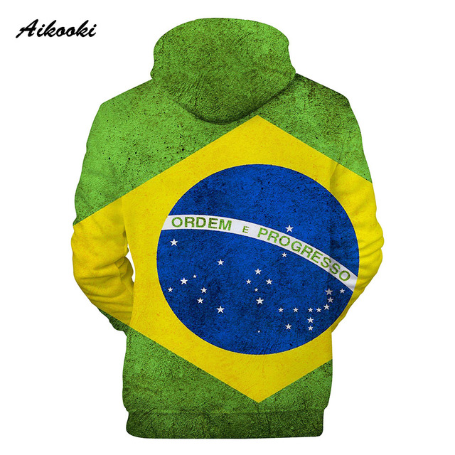 Aikooki 3D National Flag Print Argentina Germany Russia Brazil USA Mexico Hoodie Sweatshirt Clothes Men/Women Fashion hoodies