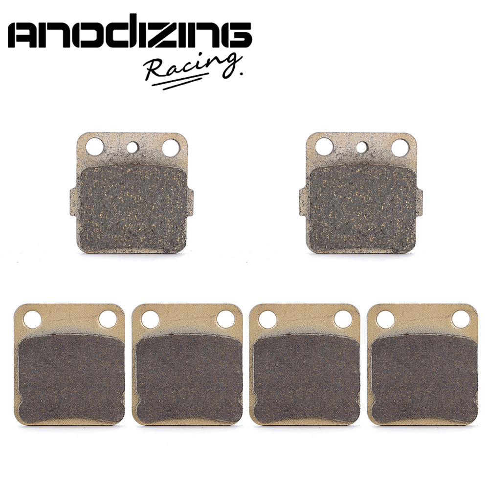Motorcycle Front and Rear Brake Pads for YAMAHA YFS200 YFS 200 R Blaster 2003 2004 2005 2006 motorcycle front and rear brake pads for yamaha xvs 1300 ctw ctx v star 1300 tourer 2007 2010 black brake disc pad