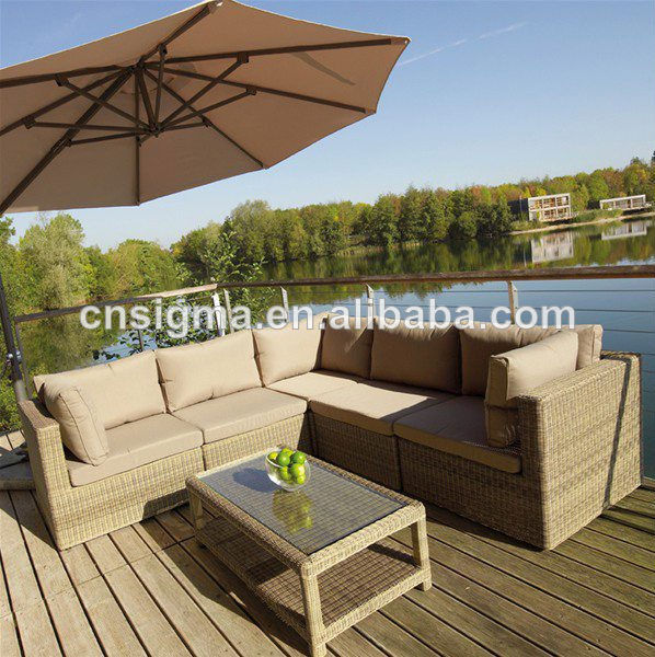 2017 modern design outdoor furniture rattan dubai sofa furniture - Garden Furniture Dubai