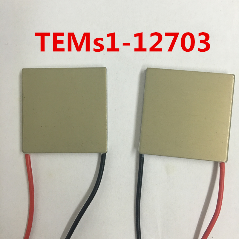 Superconducting Aluminum Semiconductor Thermoelectric Cooler TEMs1-12703 30*30*5 12V3A Rapidly Temperature difference MCU Cooler 5050 thermoelectric cooler tec1 12708 15v8a 12v temperature difference semiconductor refrigeration refrigerating capacity 69w