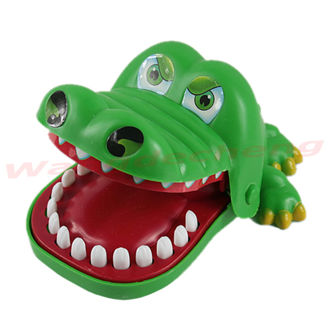 e7edf30b3 جديد التمساح الفم طبيب الأسنان لدغة فنجر لعبة مضحكة لعبة للأطفال الكبار