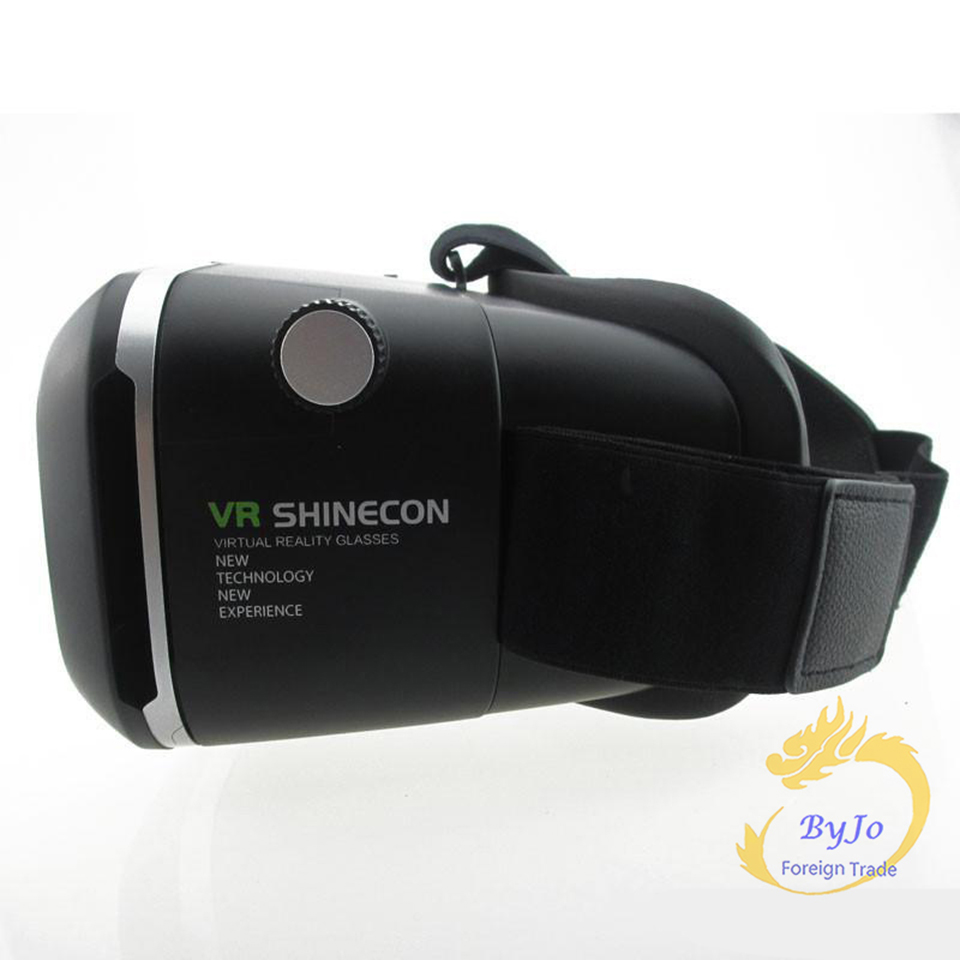 Google Cardboard VR shinecon Pro Version VR Virtual Reality 3D Glasses and Smart Bluetooth Wireless Remote Control Gamepad 1