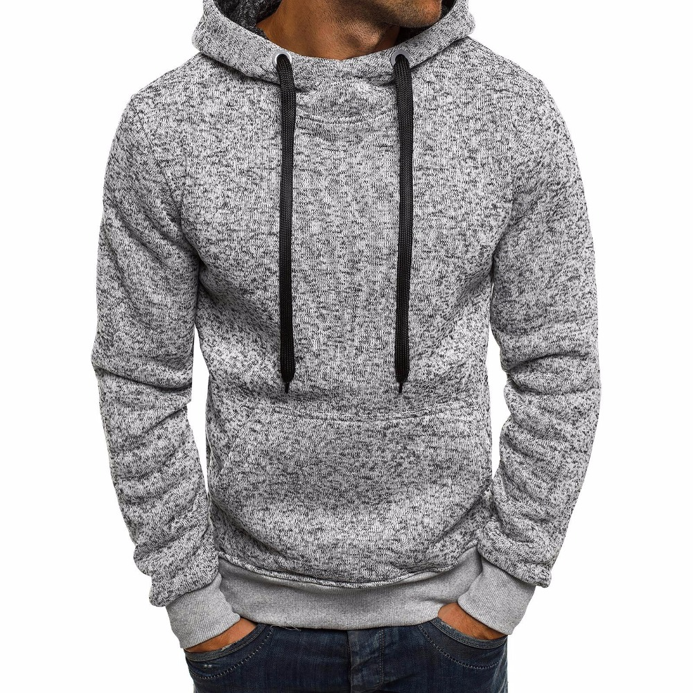Winter Solid Hoodie New Men's Casual Tracksuits Mens Hip Hop Coat Pullover Sweatshirt Men Hoodies Moleton Masculino Top