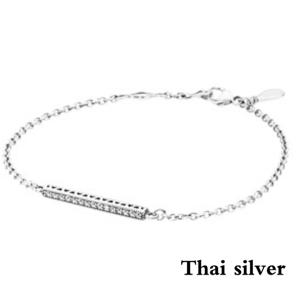 2019 NEW Luxury 100% 925 Sterling Silver Charm Chain Fit Original Bracelet Bangle for Women Authentic Jewelry Pulseira Gift2019 NEW Luxury 100% 925 Sterling Silver Charm Chain Fit Original Bracelet Bangle for Women Authentic Jewelry Pulseira Gift