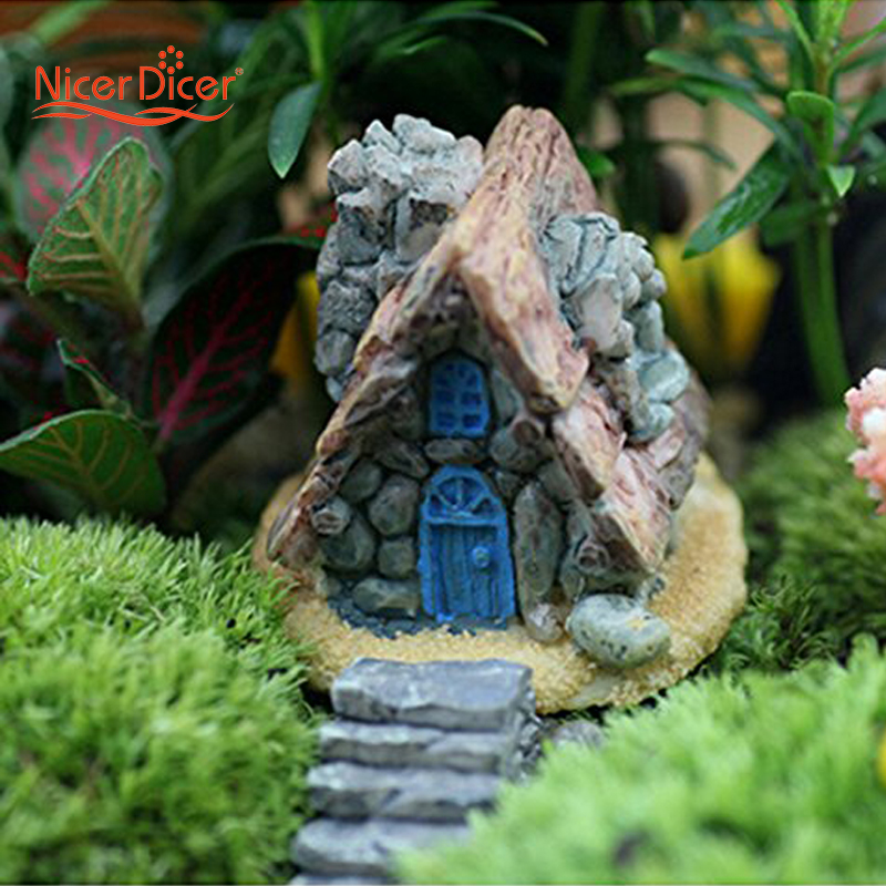 Aliexpress.com : Buy Miniature House Fairy Garden Ornaments Stone Statue  DIY Home Outdoor Decor From Reliable Garden Ornaments Suppliers On NICER