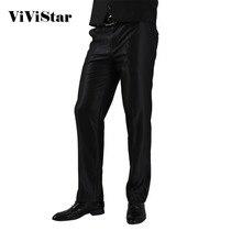 Формальный свадебный мужской костюм брюки модный приталенный Повседневный брендовый деловой Блейзер прямые брюки H0284