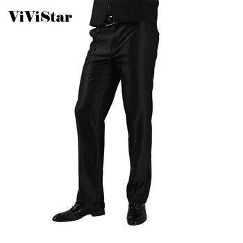 2016 Formal Wedding Men Suit Pants Fashion Slim Fit Casual Brand Business Blazer Straight Dress Trousers H0284
