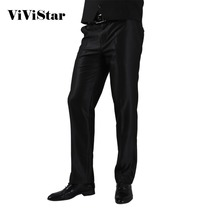 2016 formale Hochzeit Männer Anzug Hosen Fashion Slim Fit Lässige Markengeschäft Blazer Gerades Kleid Hosen H0284