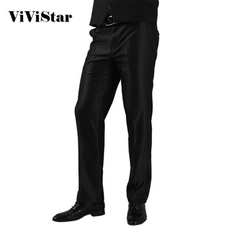 2016 Formal Wedding Men Suit Pants Fashion Slim Fit Casual Brand Business Blazer Straight Dress Trousers H0284 Men's Suit Pants