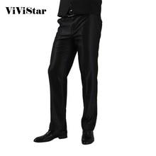 2016 homens calças moda Slim Fit marca Formal de Blazer reta calças H0284(China (Mainland))
