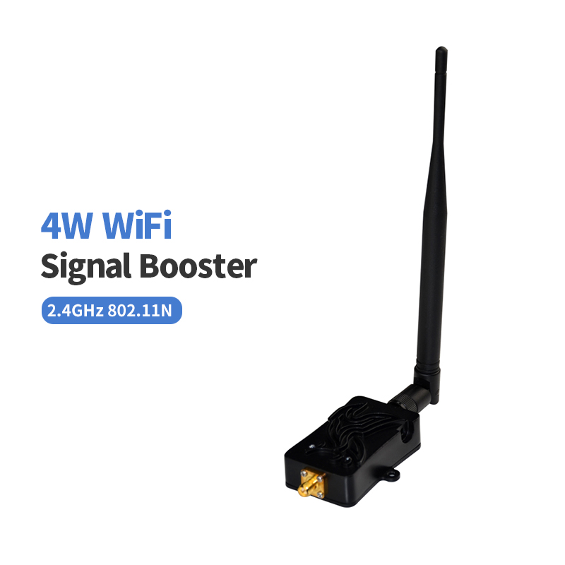 4 W WLAN WiFi Signal Booster For Cafe Home Office Bluetooth 2.4 Ghz Wireless WLan Router 5bi Wi Fi Antenna Amplifier For Router