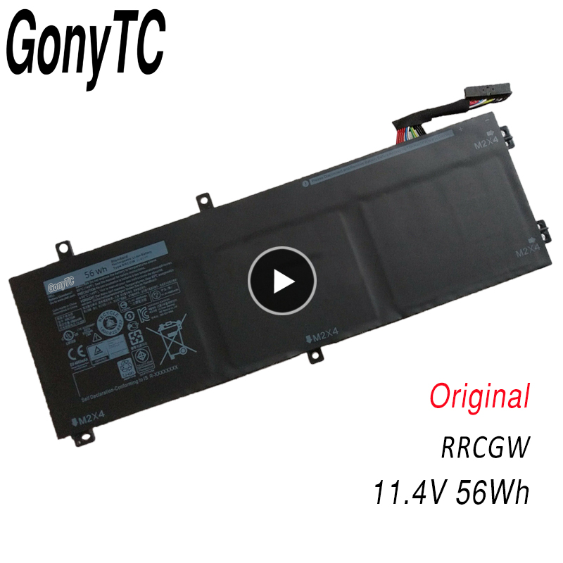 GONYTC Original RRCGW New Laptop Battery For Dell XPS 15 9550 Precision 5510 Series M7R96 62MJV 11.4V 56WH Genuine image