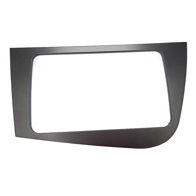 Image 2 - DOUBLE 2 DIN Car DVD FRAME Radio Fascia for SEAT Leon (LHD) Left Hand Drive stereo face plate frame radio panel dash mount kit-in Fascias from Automobiles & Motorcycles