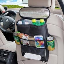 Многофункциональное хранение сумка с петлями изолированный охладитель Мумия Детские коляски карманы для путешествий на спинку автокресла