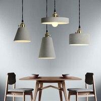 Lámparas colgantes clásicas de estilo nórdico  lámpara colgante para restaurante  cocina  luminaria de suspensión  iluminación Industrial para el hogar