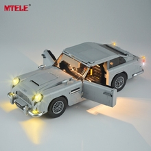 MTELE LED Light Kit For 10262 Creator Jame Bond Aston Marting DB5 Set Compatible With 21046 (NOT Include The Model)