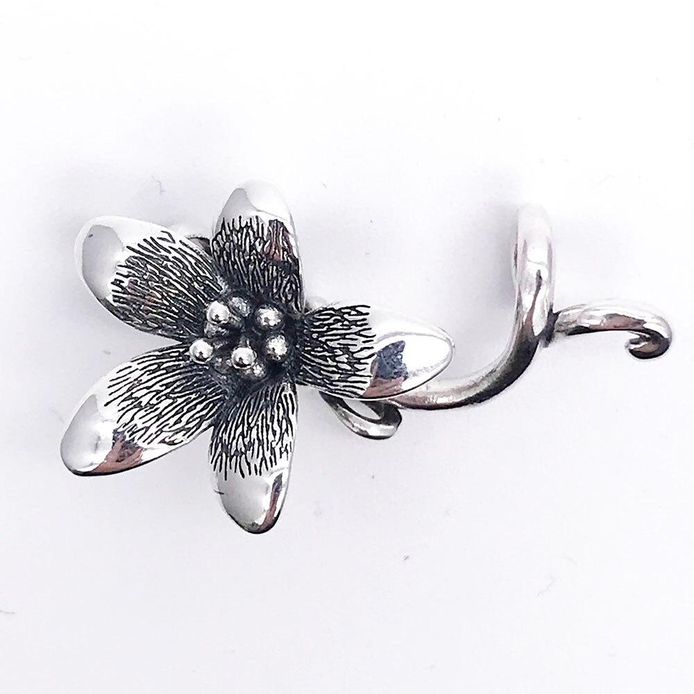 Pendentif fleur pour bracelet