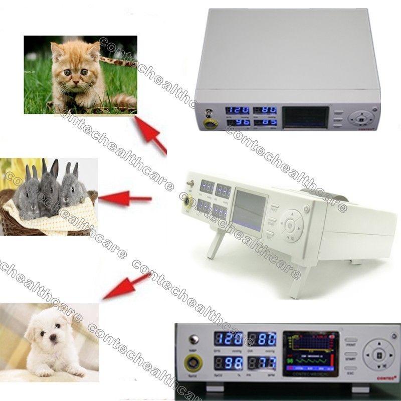 Ветеринарный ветеринар Приборы для измерения артериального давления spo2 пациента Мониторы (НИАД + SPO2 + PR), Заводская распродажа