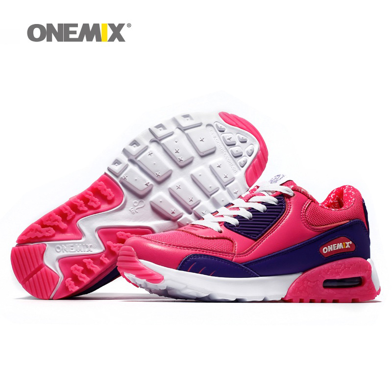 Woman Running Shoes Max Nice Retro Trends Athletic Trainers For Women Red Zapatillas Sports Shoe Outdoor Walking Sneakers 2018 2018 air running shoes for women unique shoe tongue athletic trainers black red mens breathable sports shoe cushion sneakers