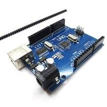 Arduino (호환) 용 5 개/몫 uno r3 개발 보드 uno mega328p ch340 usb 케이블 없음