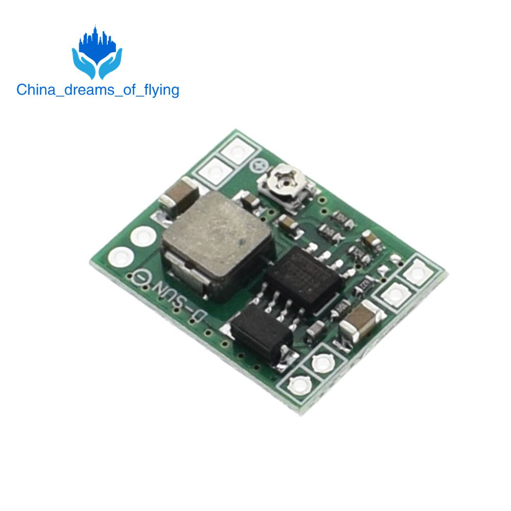 TZT  10PCS Ultra-Small Size DC-DC Step Down Power Supply Module MP1584EN 3A Adjustable Buck Converter For Arduino Replace LM2596