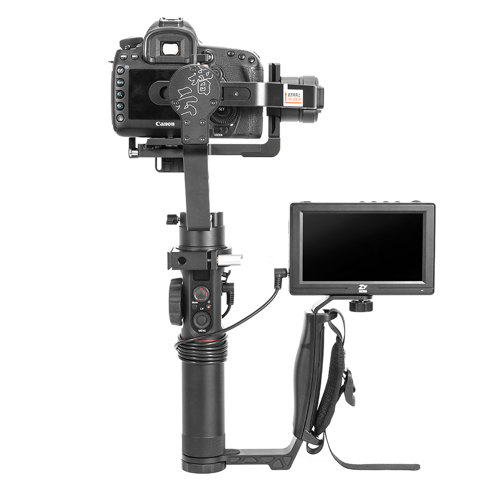 Zhiyun Crane 2 Crane 2 3-Axis Handheld Gimbal Stabilizer with TransMount Mini Dual Grip for Canon Nikon Sony Panasonic Cameras цена