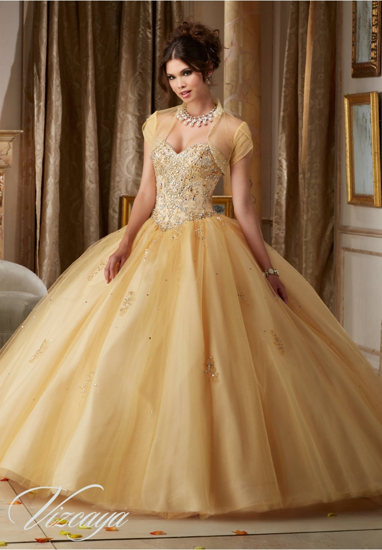 Popular Gold Quinceanera Dresses-Buy Cheap Gold ...