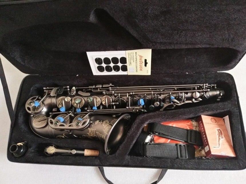 Hot Francia Henri Selmer 80 Nuovo Sassofono E sassofono Contralto di Alta Qualità Nero Super Professionale Strumenti Musicali