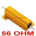 ( 20 шт./лот ) 56 Ом 50 Вт проволочный алюминий размещенный резистора, 50 Вт