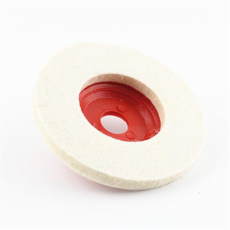 100mm Wool Polishing Pad Grinding Wheel