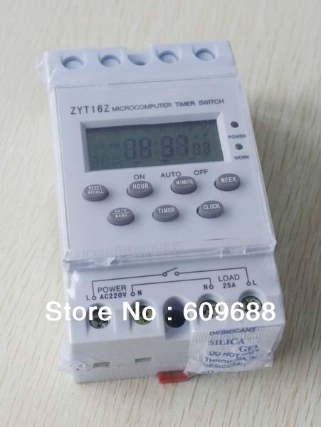 Цифровой автоматический таймер, переключатель программируемый ZYT16Z