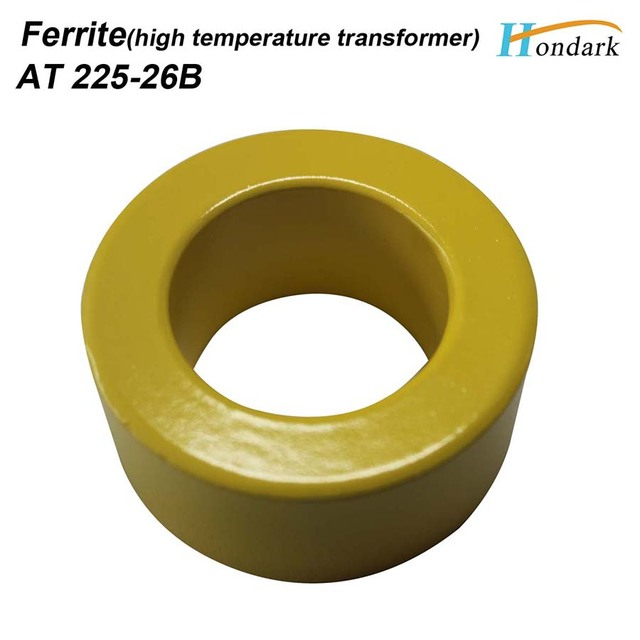 US $17 0  2 3''X1''X1 5'' power transformer ferrite core 58X38X25mm AT225  26B isolator ferrite bead cable wires RF choke ferrite ,2pcs/lot-in