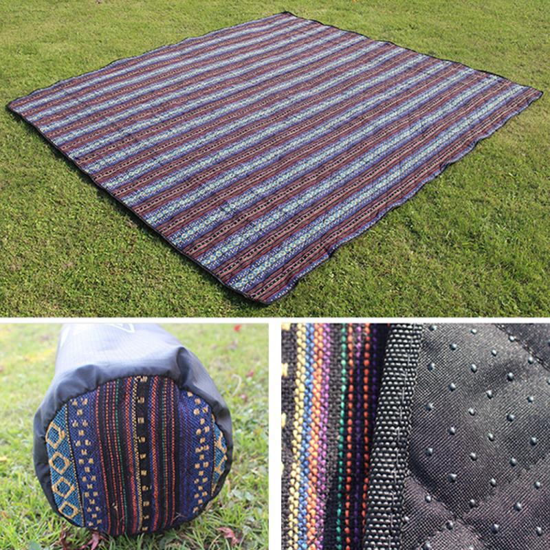 2018 Aotu 200x140 cm lavable Oxford pique-nique couverture Camping tapis plage imperméable tapis voyage