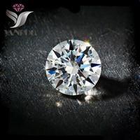 Top Quality 1357 100pcs 8mm Round White Shiny Cubic Zirconia Glitter Rhinestones 3d Tiny Zircon Nail