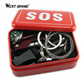 SOS Tool Kit First Aid Box Emergency Equipment Onboard SOS Emergency Supplies Outdoor Survival Equipment Camping Survival Tool