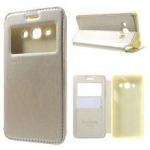Рев Корея Coque для Samsung J3 Pro телефон случаях держателя карты вид кожа флип чехол для Galaxy J 3 про мешок Капа