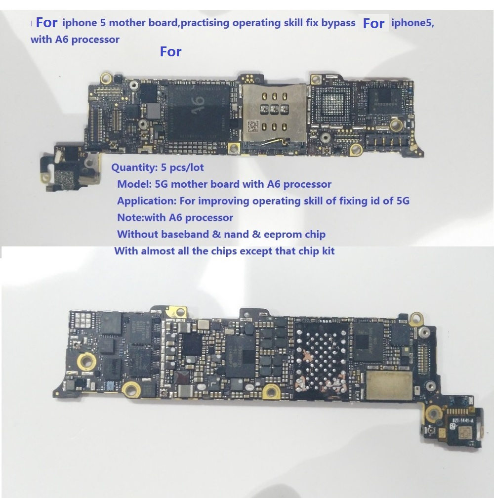 Connectors Repair For Iphone 5s Boardpractising Operating Skill Fix Board Holder 6g 7p Qianli 5 Bypass Icloud Iphone5with A6 Processor