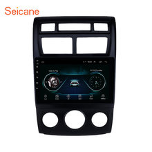 Seicane 2Din Android 8.1 9″ GPS Car Radio For 2007-2017 KIA Sportage Manual air conditioner Support Rearview Camera USB wifi