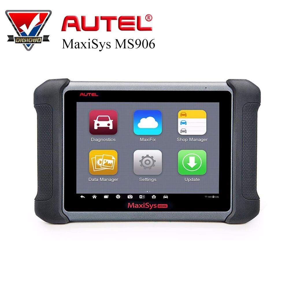 Autel MaxiSys MS906 автомобильный диагностический Системы полный Системы автомобиль сканирования MS906 мощный чем MaxiDAS DS708 бесплатного обновления онл...