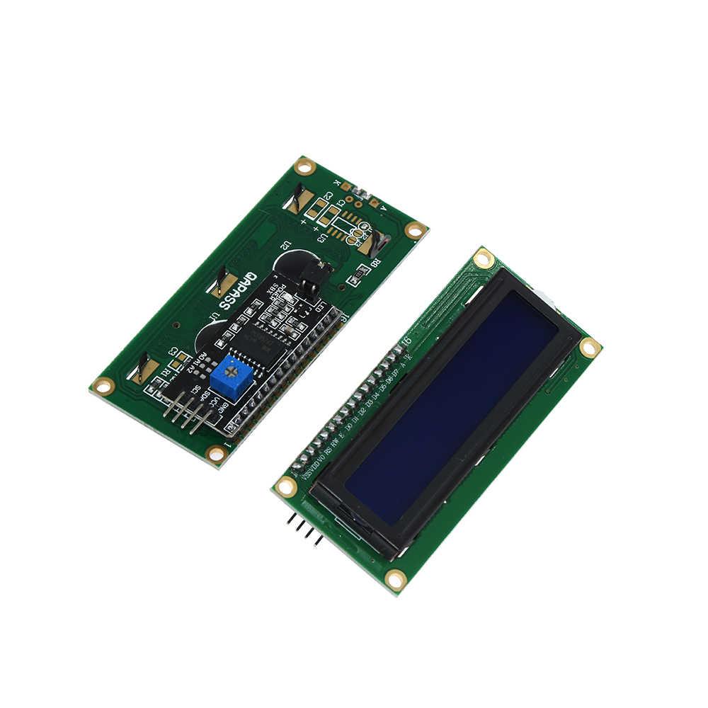 1 Pcs Samiore Robot Serial Papan Modul Port PCF8574 IIC/I2C/Twi/SPI Antarmuka Modul 1602 LCD tampilan