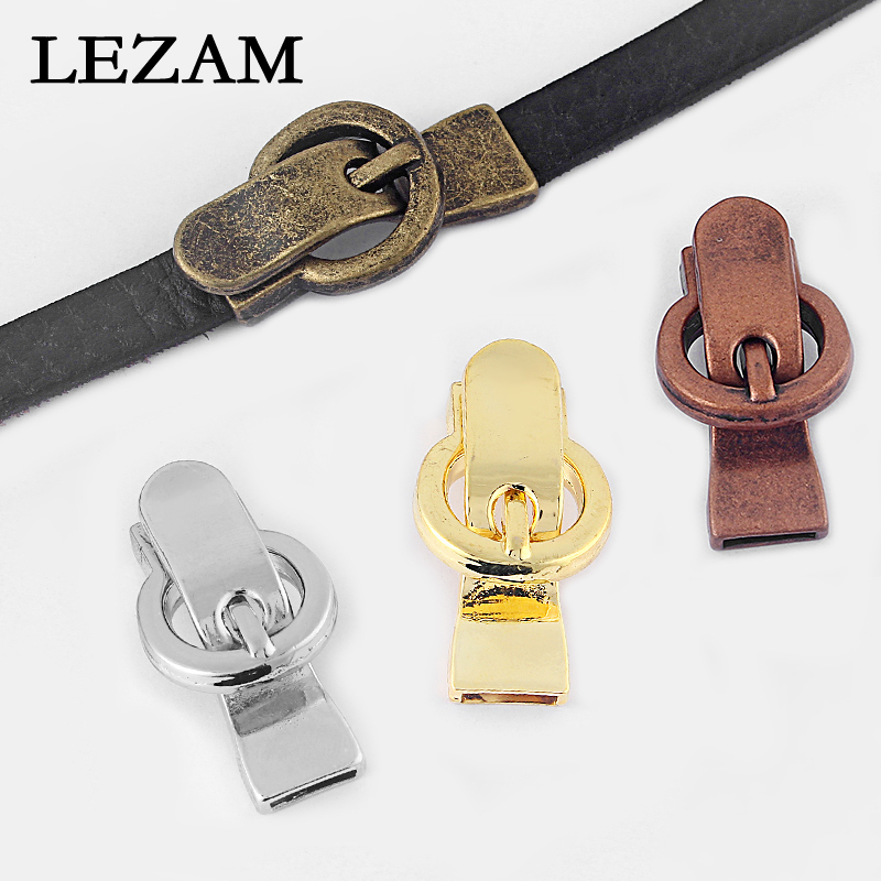 2pcs Fashion Magnetic Clasp Buckle Magnetic Clasp For 5mm 10mm Flat Leather Cord Diy Bracelet Jewelry Findings Accessories