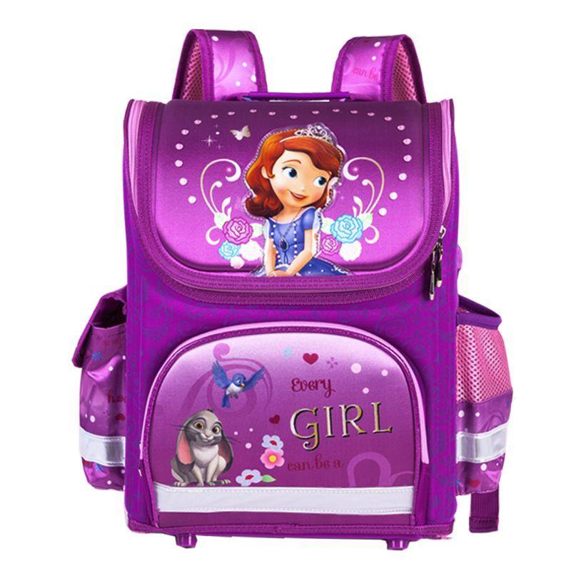 Brand Orthopedic Schoolbag Girls Backpacks For School Kids Rucksack Children School Bag Princess Knapsack Mochila Escolar ...